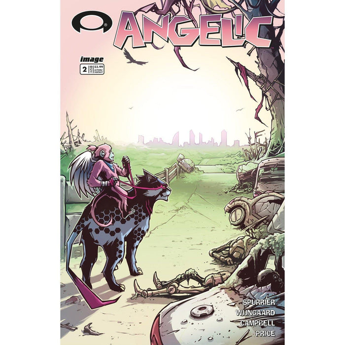 Angelic #2 Cvr B Walking Dead #2 Tribute Variant-Georgetown Comics