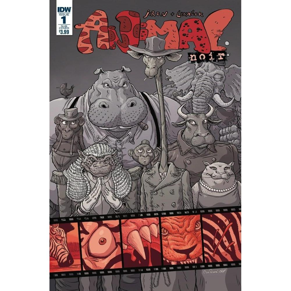 Animal Noir #1 Subscription Var-Georgetown Comics