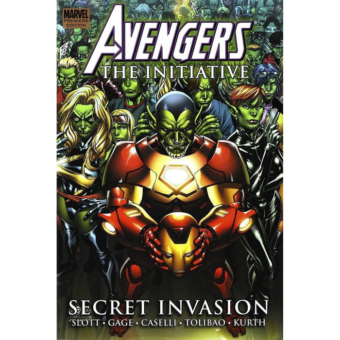 Avengers Initiative Prem HC Vol 03 Secret Invasion-Georgetown Comics