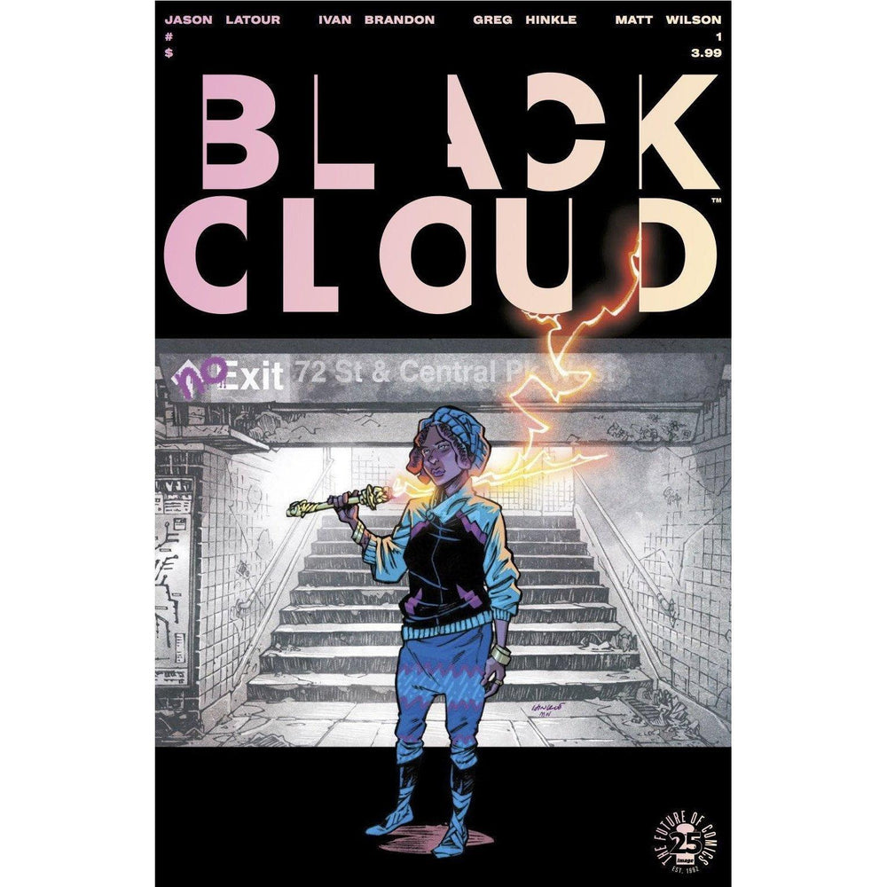 Black Cloud #1 2nd Ptg-Georgetown Comics