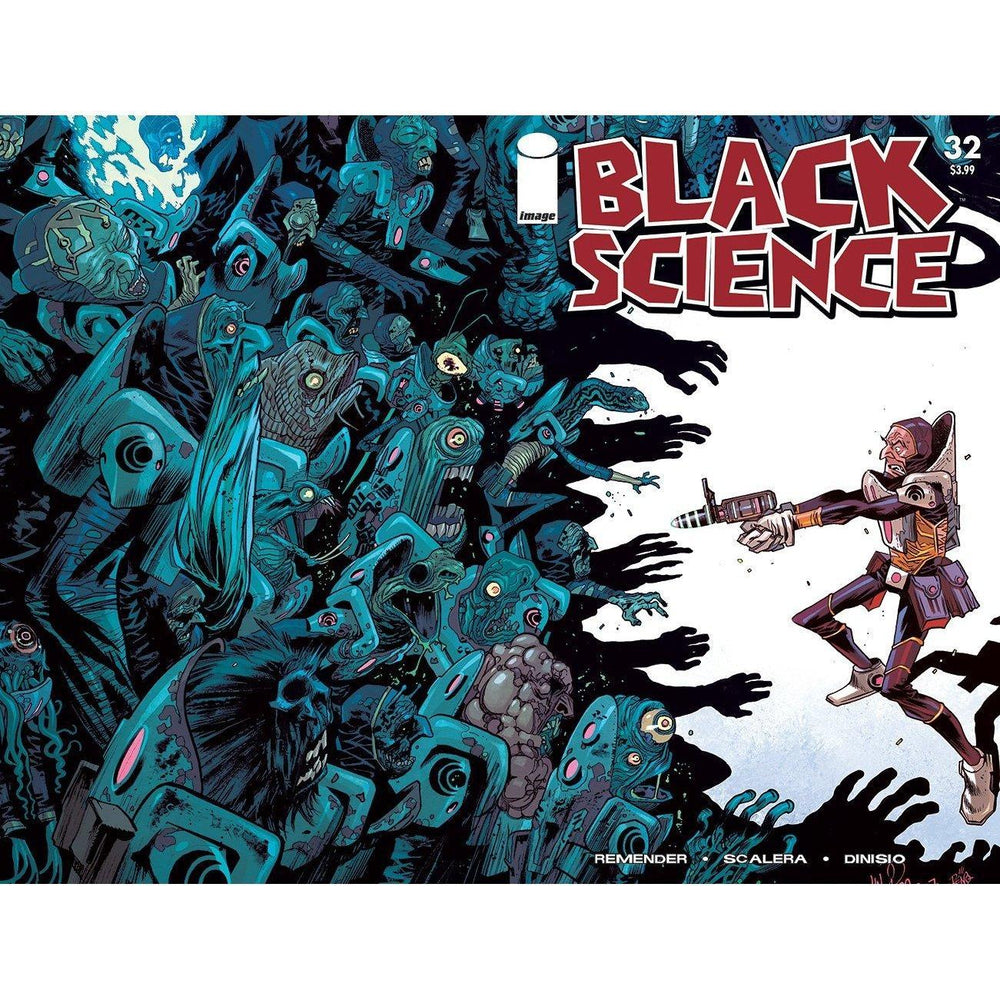 Black Science #32 Cvr C Walking Dead #5 Tribute Variant-Georgetown Comics