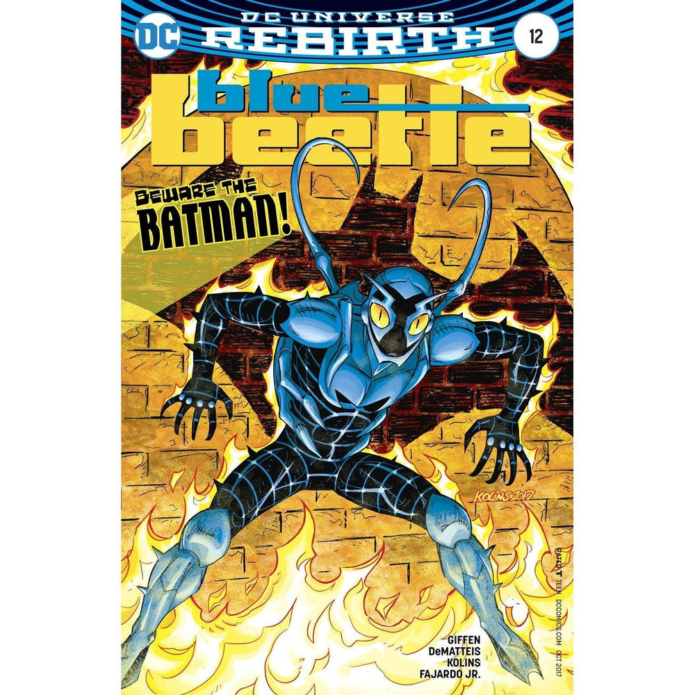 Blue Beetle #12-Georgetown Comics