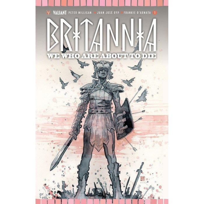 Britannia We Who #1 (Of 4) Cvr B Mack-Georgetown Comics