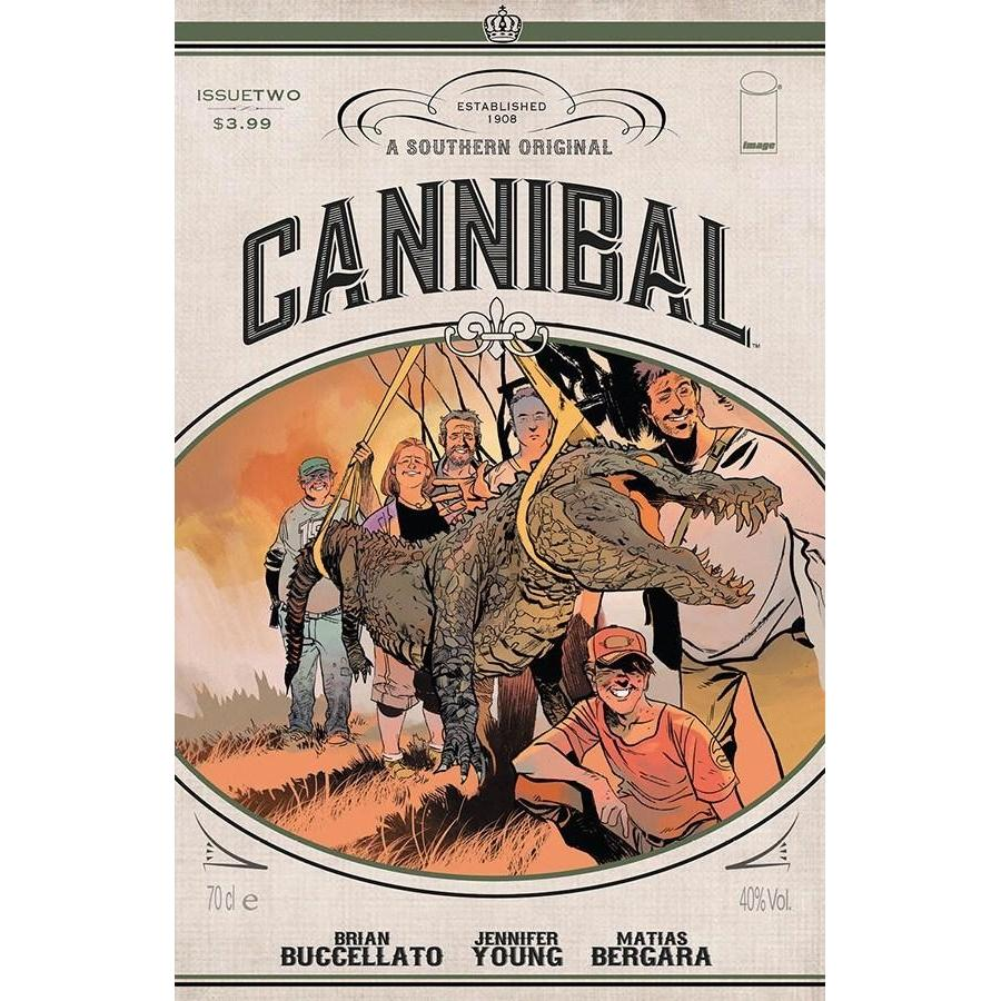 Cannibal #2-Georgetown Comics