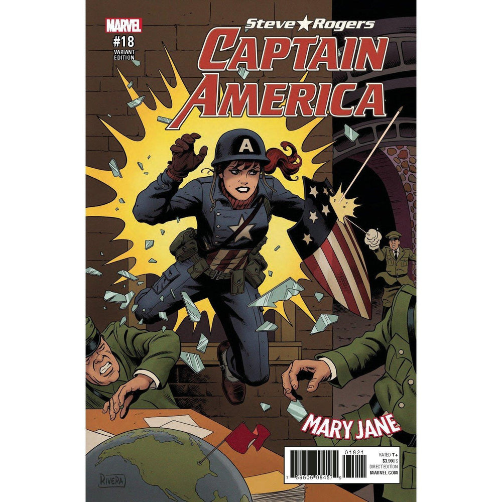 Captain America Steve Rogers #18 Rivera Mary Jane Var SE-Georgetown Comics