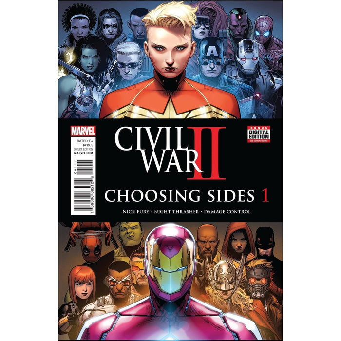 Civil War II Choosing Sides #1 (of 6)-Georgetown Comics