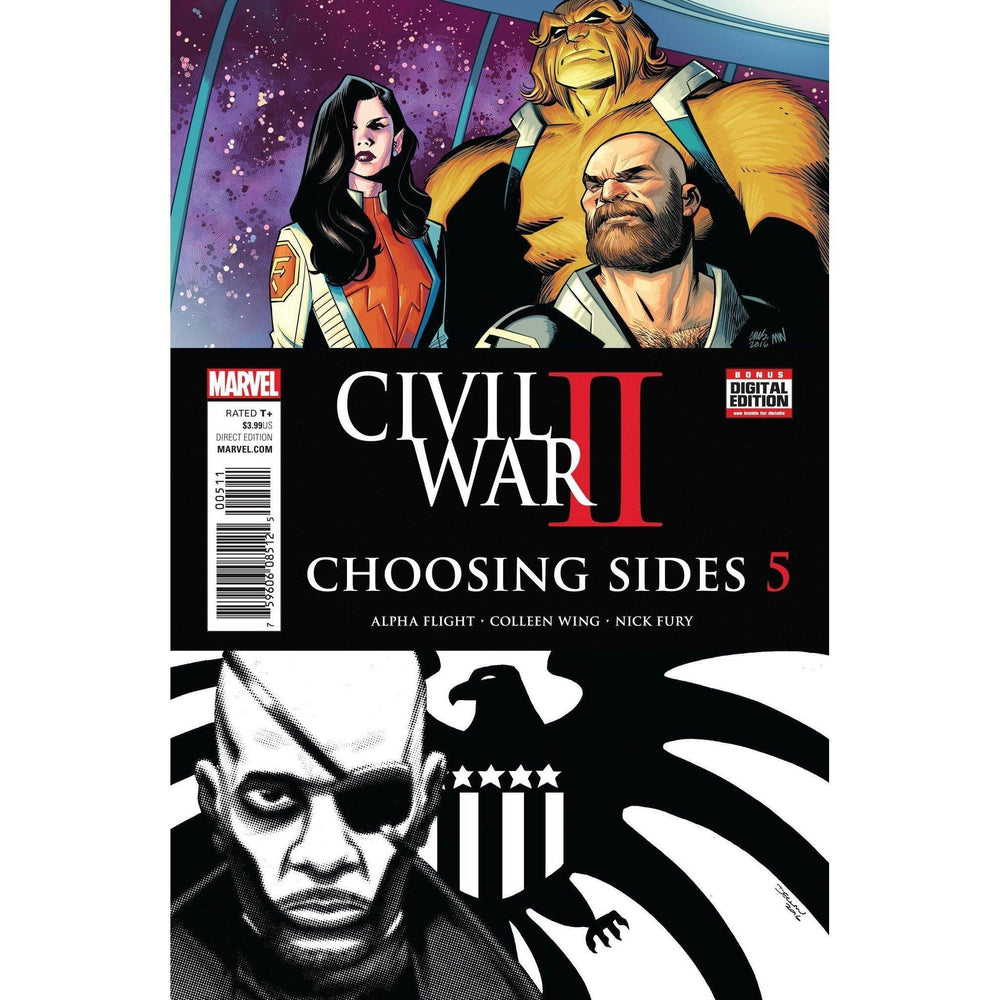 Civil War II Choosing Sides #5 (Of 6)-Georgetown Comics