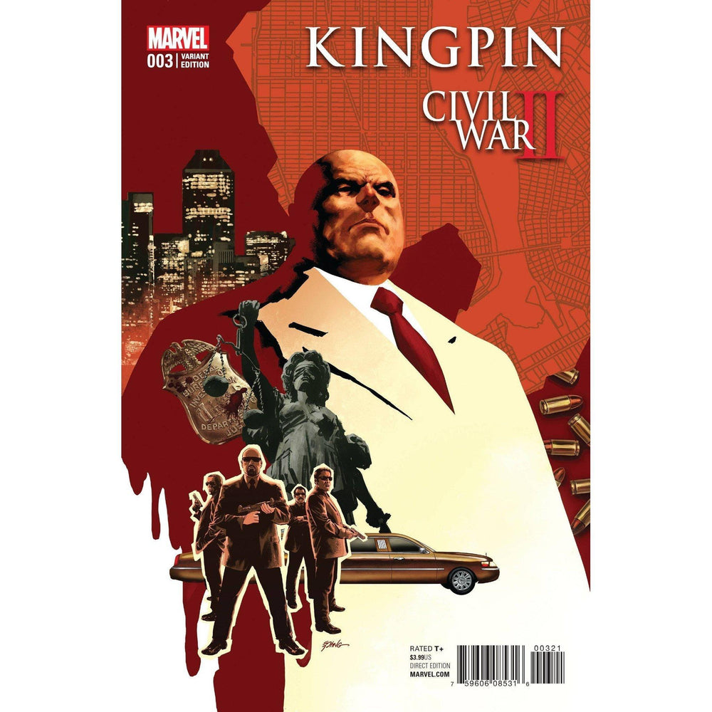 Civil War II Kingpin #3 (Of 4) Epting Var-Georgetown Comics