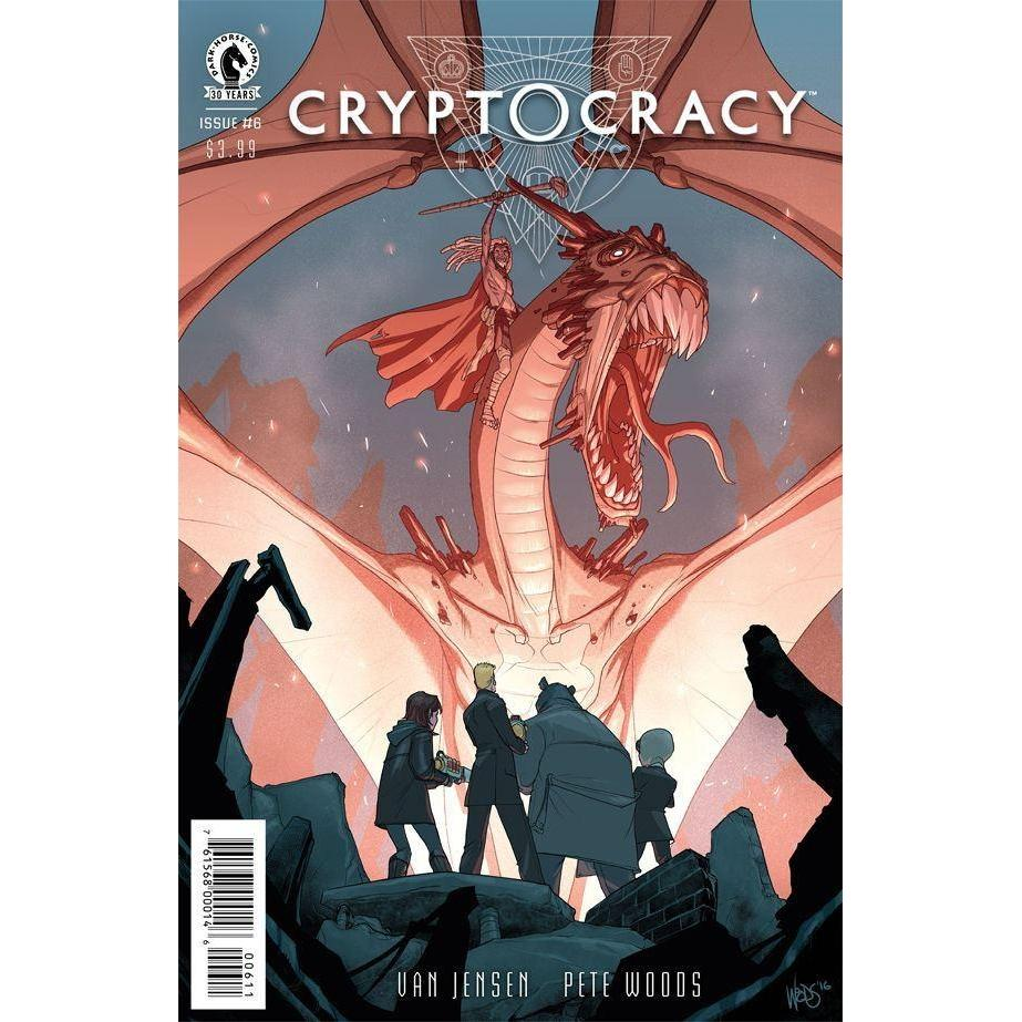 Cryptocracy #6-Georgetown Comics