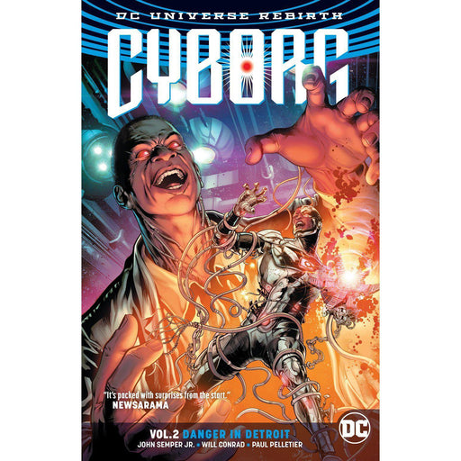 Cyborg TP Vol 02 Danger In Detroit (Rebirth)-Georgetown Comics