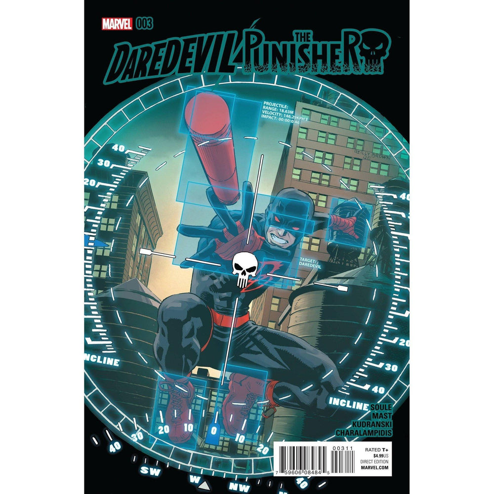 Daredevil Punisher #3 (Of 4)-Georgetown Comics