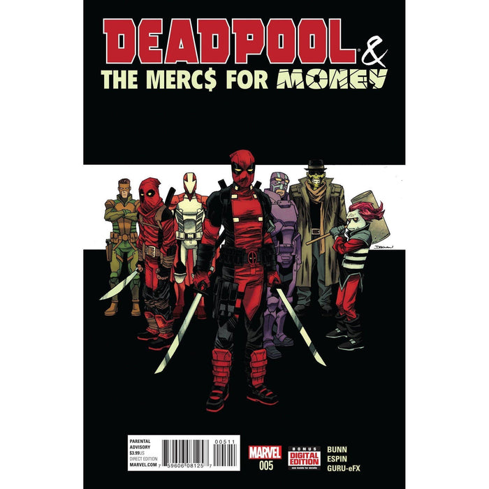 Deadpool Mercs For Money #5 (of 5)-Georgetown Comics