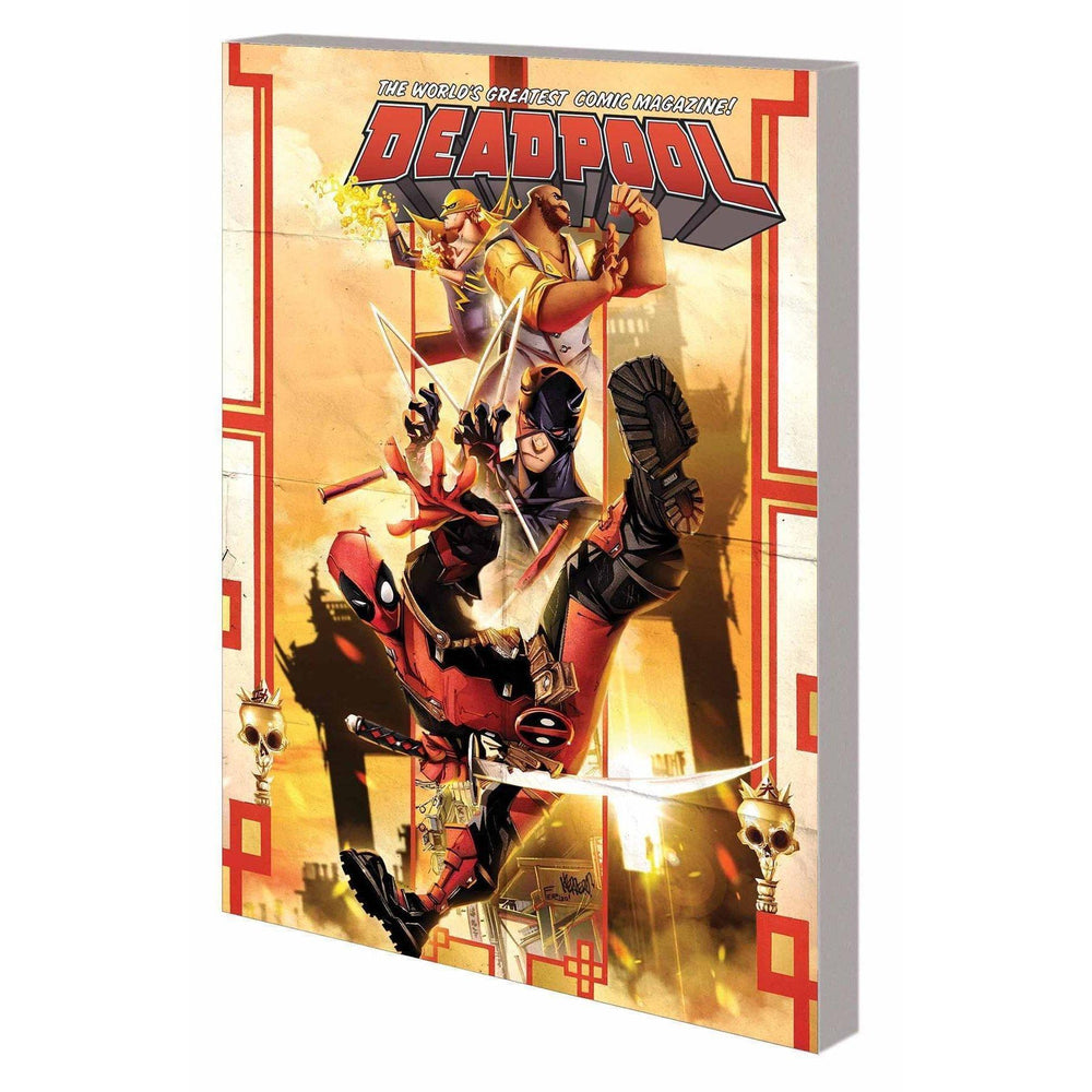 Deadpool Worlds Greatest TP Vol 04 Temporary Insanitation-Georgetown Comics
