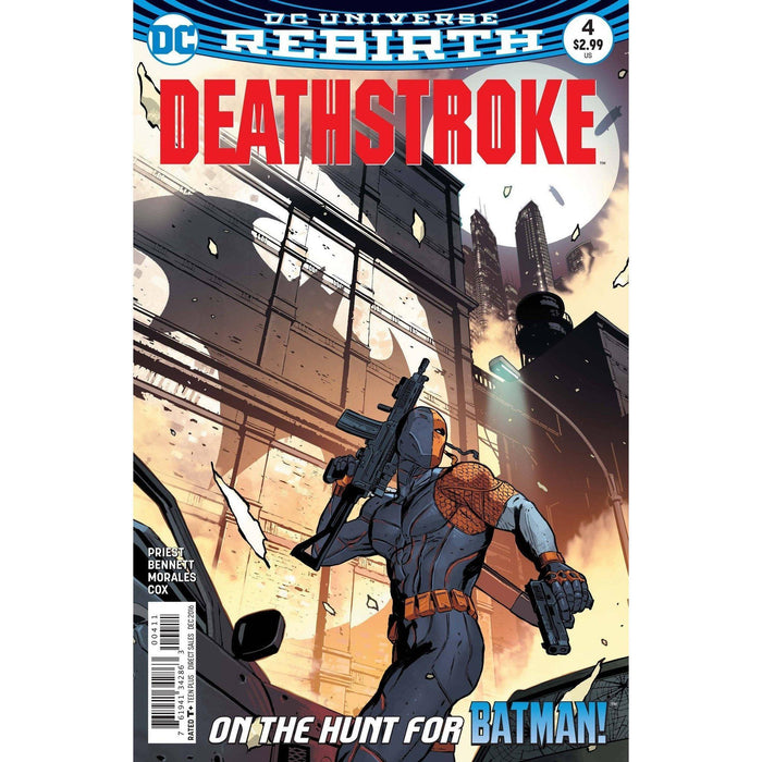 Deathstroke #4-Georgetown Comics