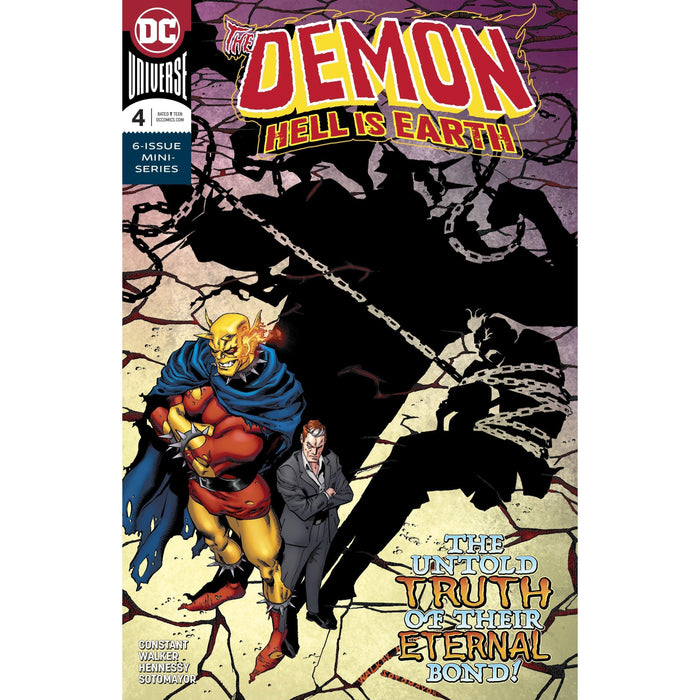 Demon Hell is Earth #4 (Of 6)-Georgetown Comics