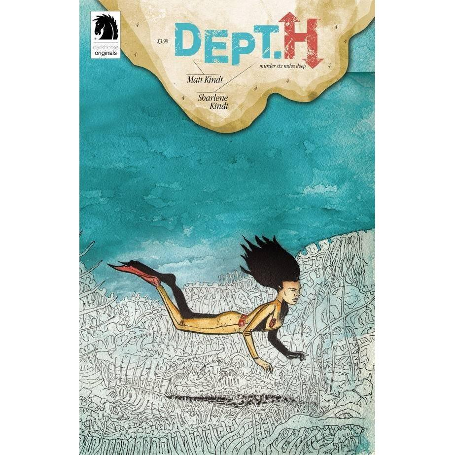 Dept H #4-Georgetown Comics