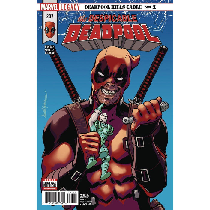 Despicable Deadpool #287 Legacy-Georgetown Comics