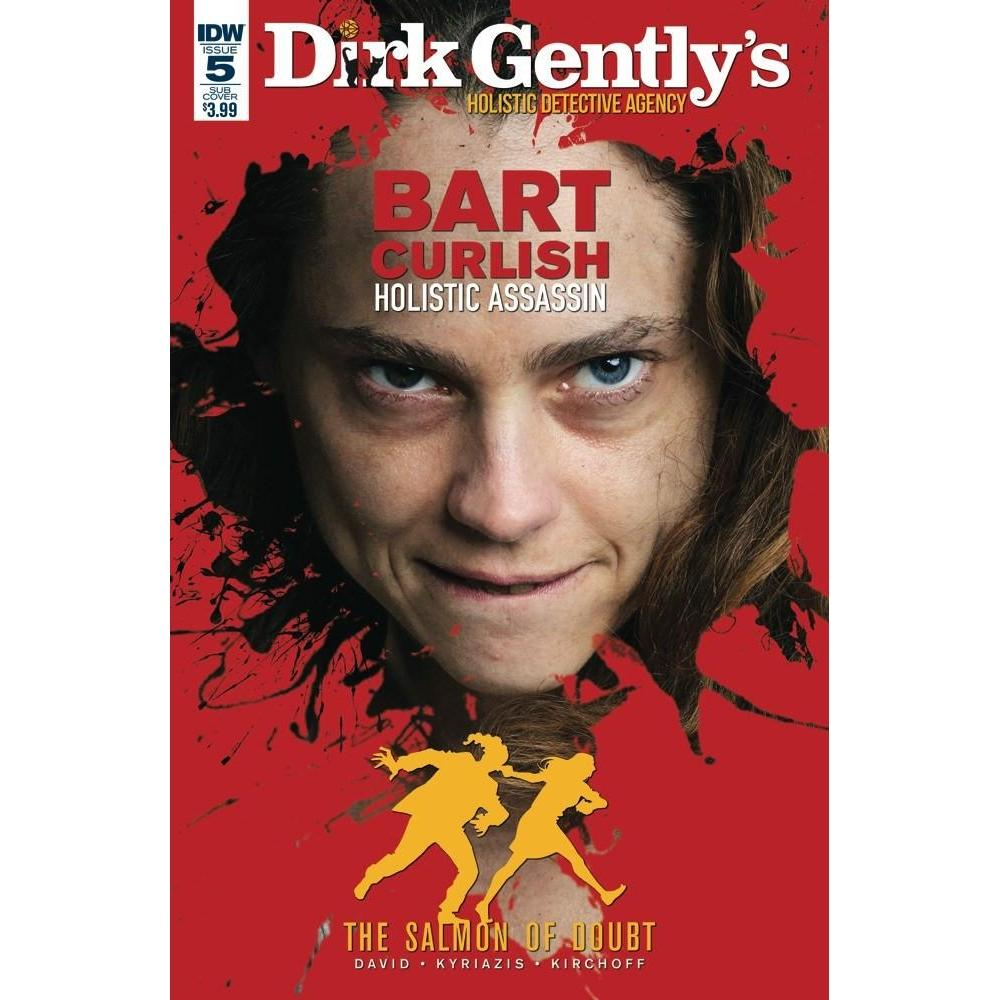 Dirk Gently Salmon Of Doubt #5 Subscription Var-Georgetown Comics
