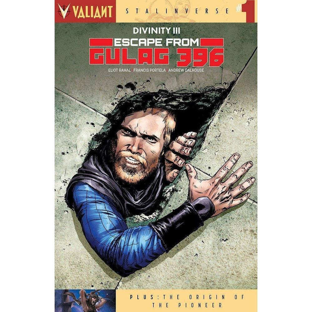 Divinity III Escape From Gulag 396 #1 Cvr A Gorham-Georgetown Comics