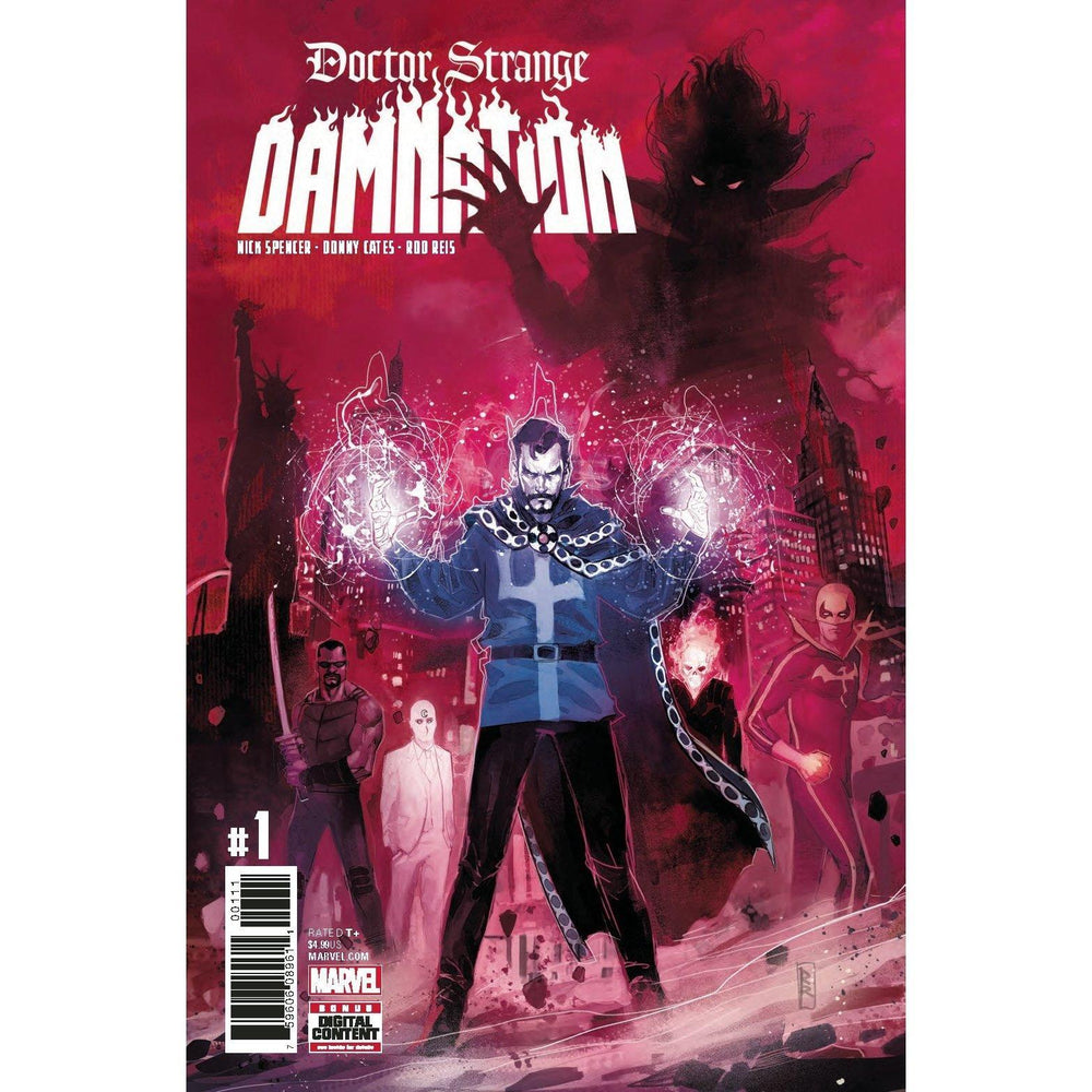 Doctor Strange Damnation #1 (Of 4) Legacy-Georgetown Comics