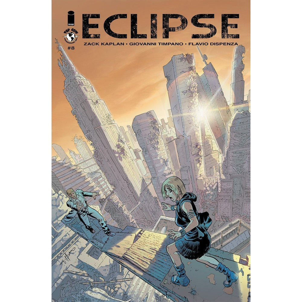 Eclipse #8-Georgetown Comics