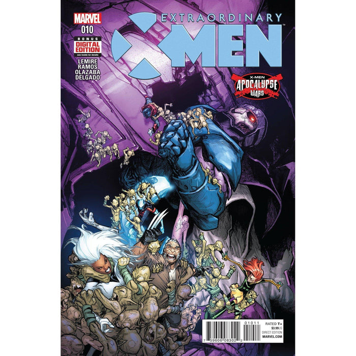 Extraordinary X-Men #10 AW-Georgetown Comics