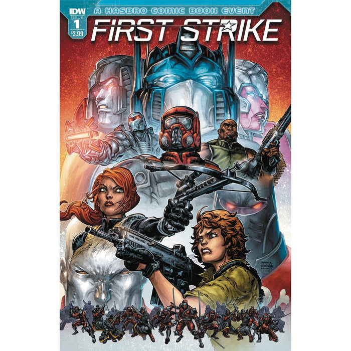 First Strike #1 Cvr A Williams II-Georgetown Comics