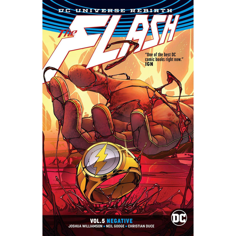 Flash TP Vol 05 Negative Rebirth-Georgetown Comics