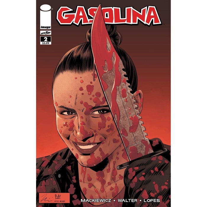 Gasolina #2 Cvr B Walking Dead #111 Tribute Variant-Georgetown Comics