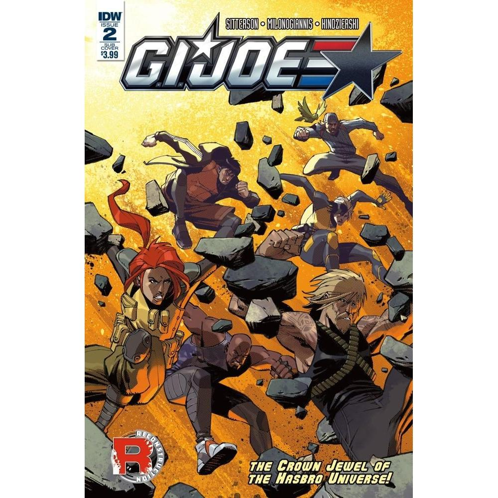GI Joe (2016) #2 Subscription Var-Georgetown Comics