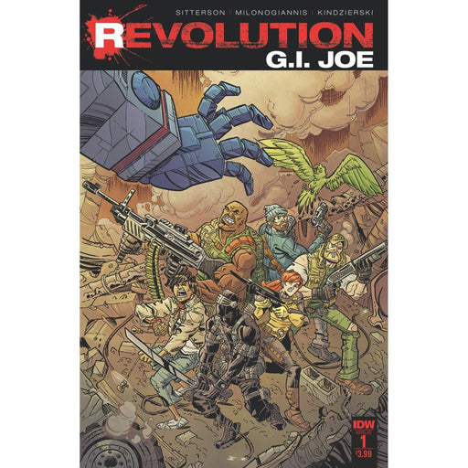 Gi Joe Revolution #1-Georgetown Comics