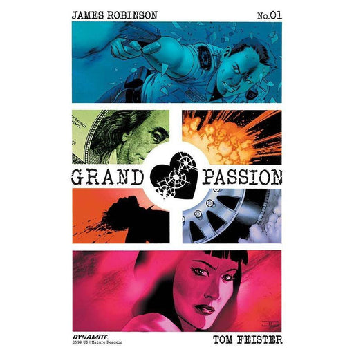 Grand Passion #1 (Of 5) Cvr A Cassaday-Georgetown Comics