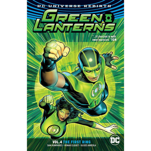 Green Lanterns TP Vol 04 The First Rings (Rebirth)-Georgetown Comics