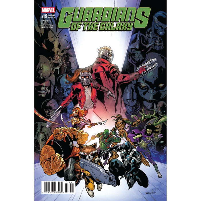 Guardians Of Galaxy #19 Schiti Final Issue Var-Georgetown Comics