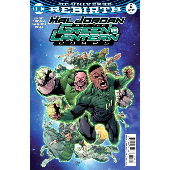 Hal Jordan and the Green Lantern Corps #2-Georgetown Comics