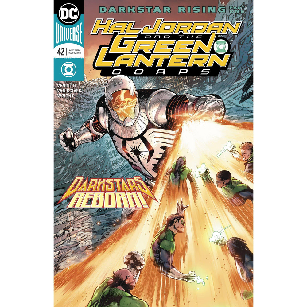 Hal Jordan and the Green Lantern Corps #42-Georgetown Comics