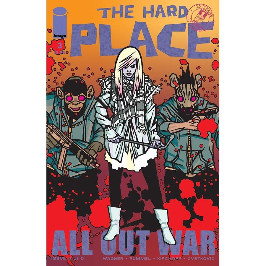 Hard Place #3 (Of 5) Cvr D Walking Dead #116 Tribute Variant-Georgetown Comics