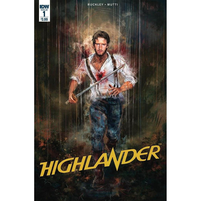 Highlander American Dream #1 Subscription Var-Georgetown Comics