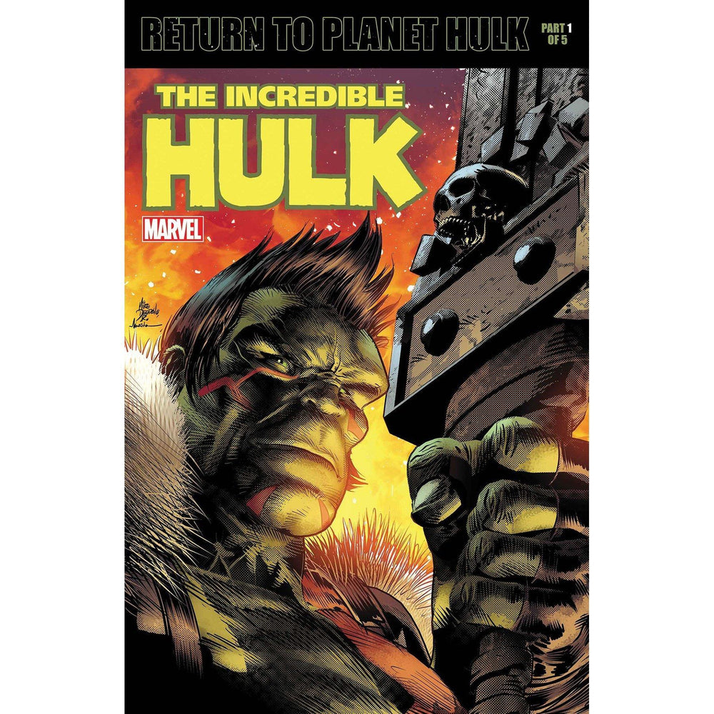 Incredible Hulk #709 Deodato Lenticular Homage Variant-Georgetown Comics
