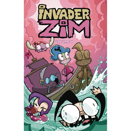 Invader Zim TP Vol 04-Georgetown Comics
