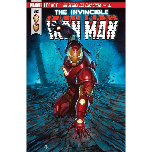 Invincible Iron Man #593 Legacy-Georgetown Comics