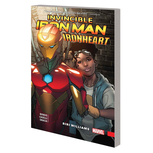 Invincible Iron Man Ironheart TP Vol 01 Riri Williams-Georgetown Comics