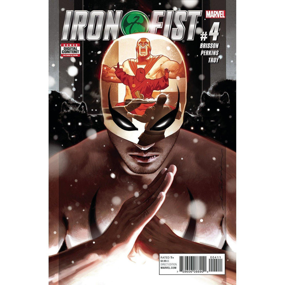 Iron Fist #4-Georgetown Comics