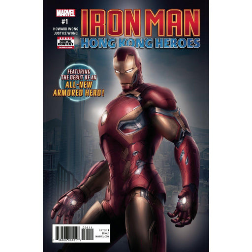 Iron Man Hong Kong Heroes #1 (Of 1) Legacy-Georgetown Comics