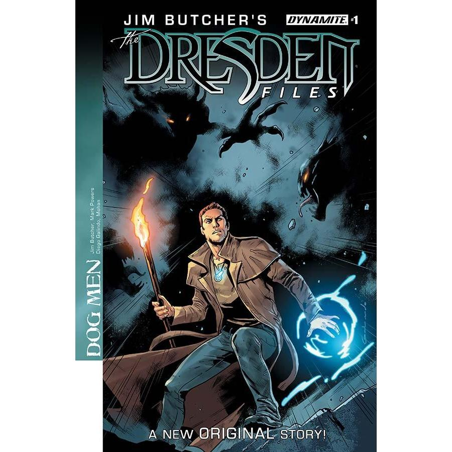 Jim Butcher Dresden Files Dog Men #1 Cvr A Galindo-Georgetown Comics