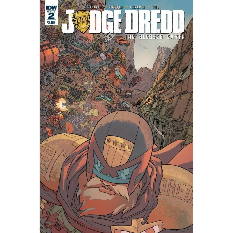 Judge Dredd Blessed Earth #2-Georgetown Comics