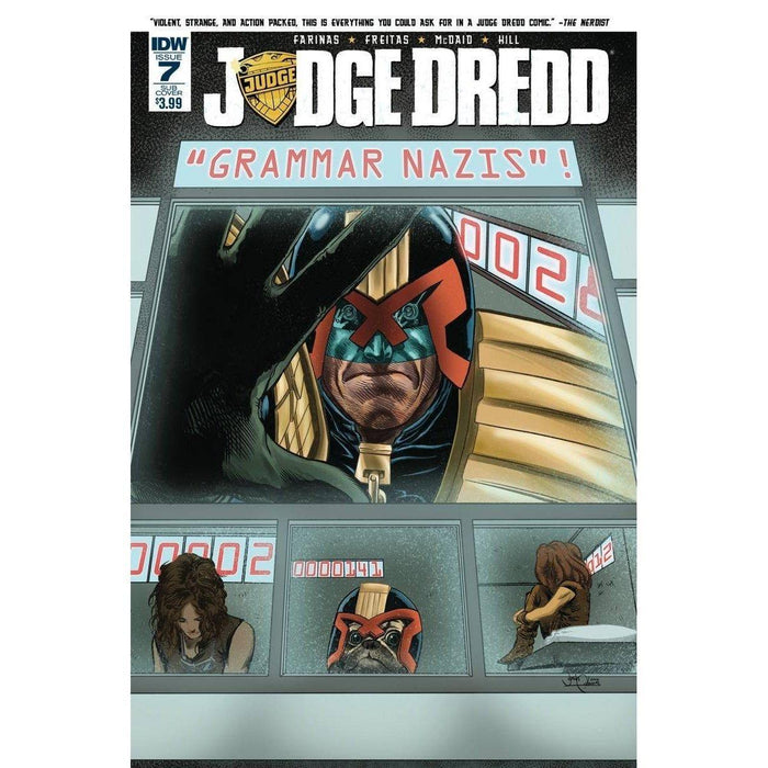 Judge Dredd (Ongoing) #7 Sub Variant (2016)-Georgetown Comics