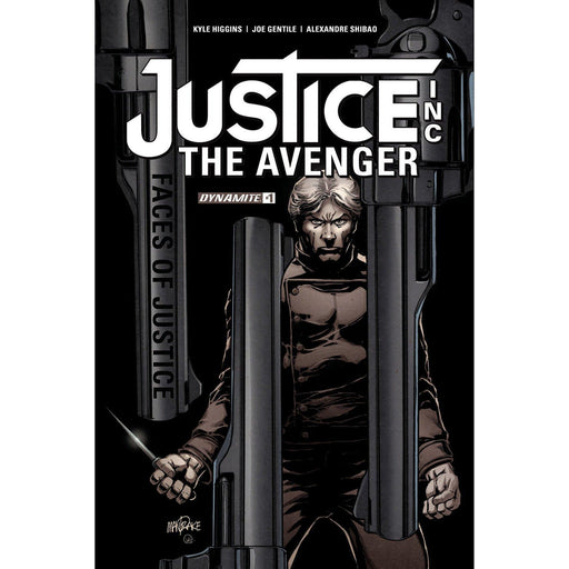 Justice Inc Faces Of Justice #1 (Of 4) Cvr A Mandrake-Georgetown Comics