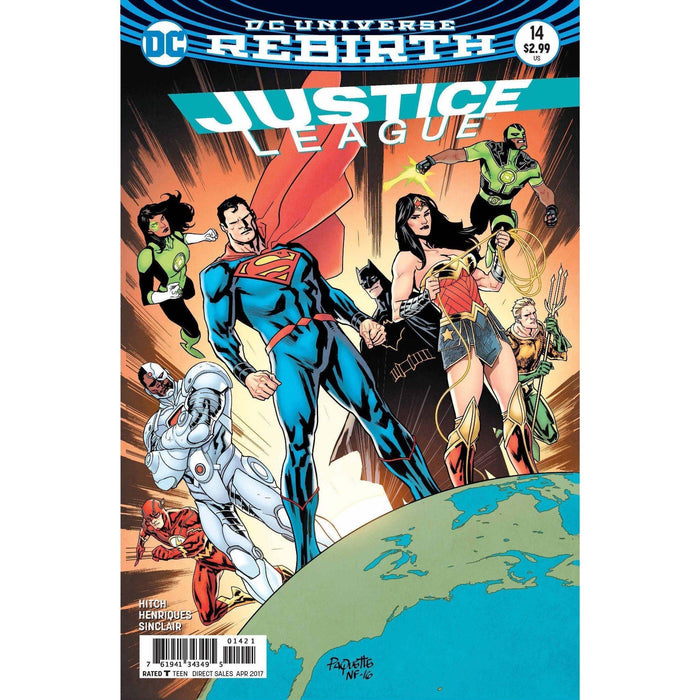 Justice League #14 Var Ed-Georgetown Comics