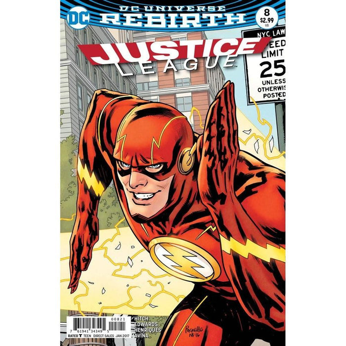 Justice League #8 Var Ed-Georgetown Comics